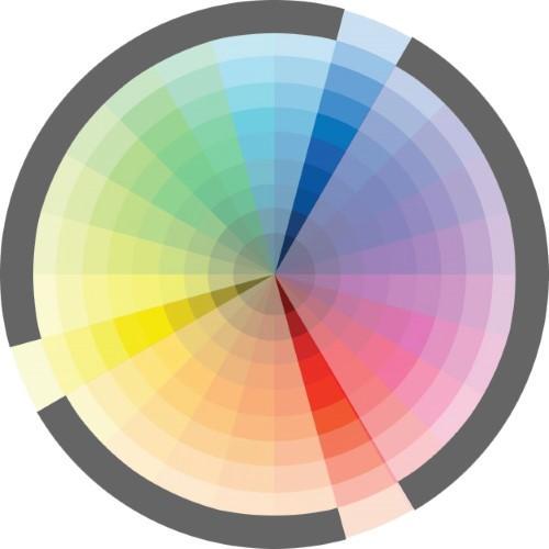 Kleuradvies - Triadische kleuren