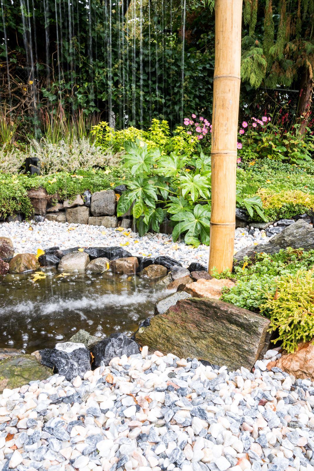 de grote tuinverbouwing gebruikte materialen