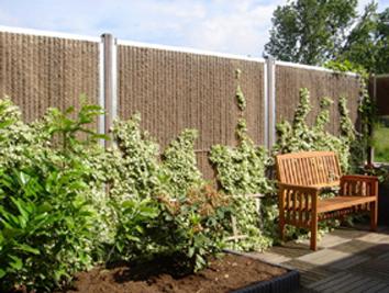 Kokosschutting, tuinschermen met een natuurlijke uitstraling!