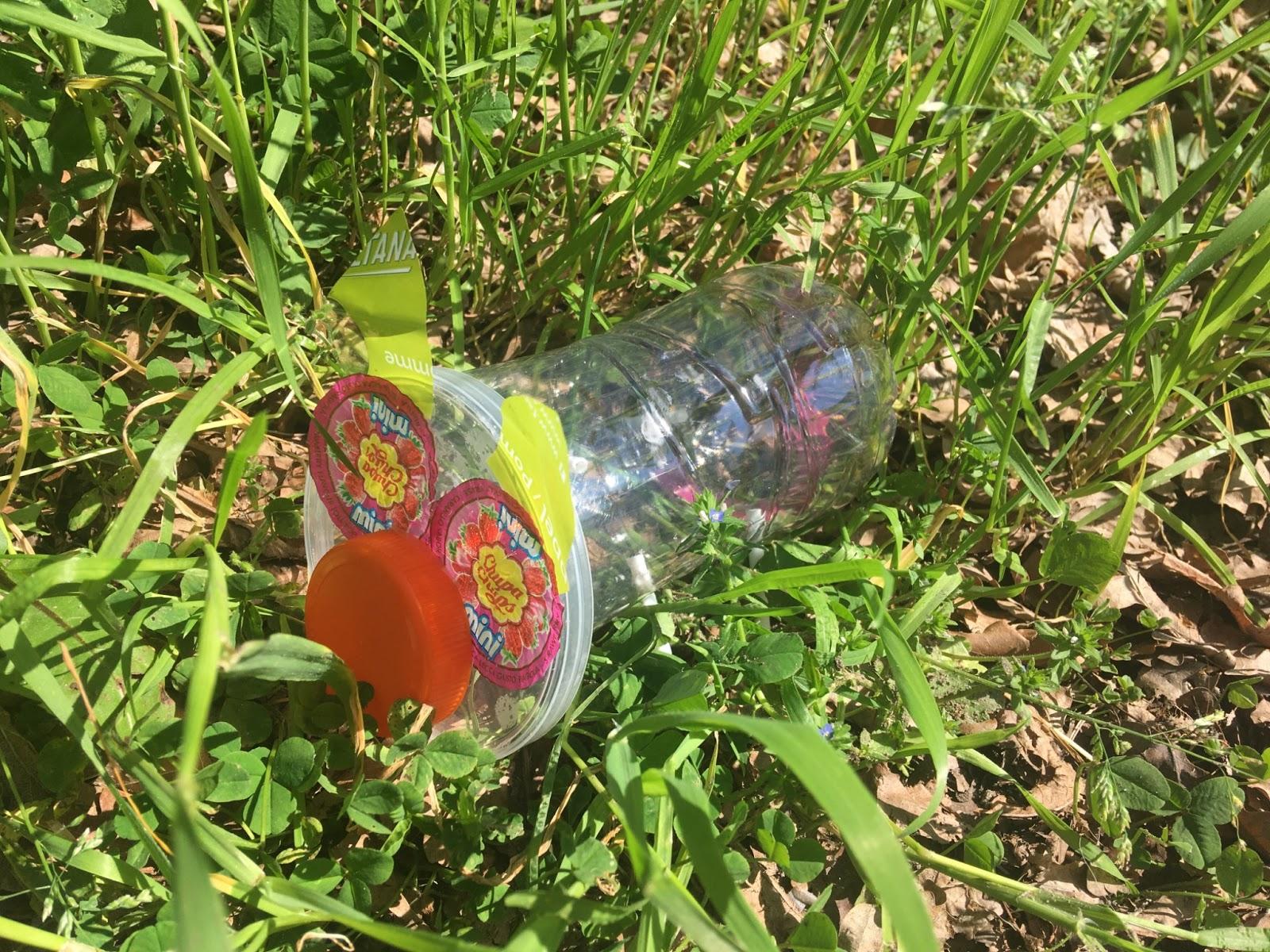 Basteln mit Plastik Planet Happy