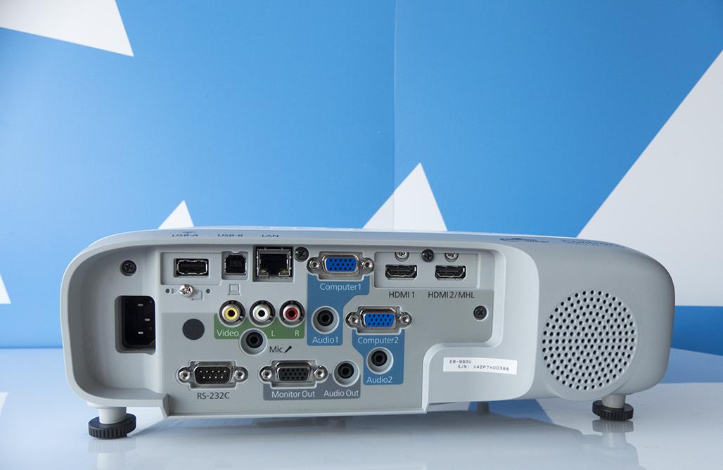 De Epson EB-990U beamer