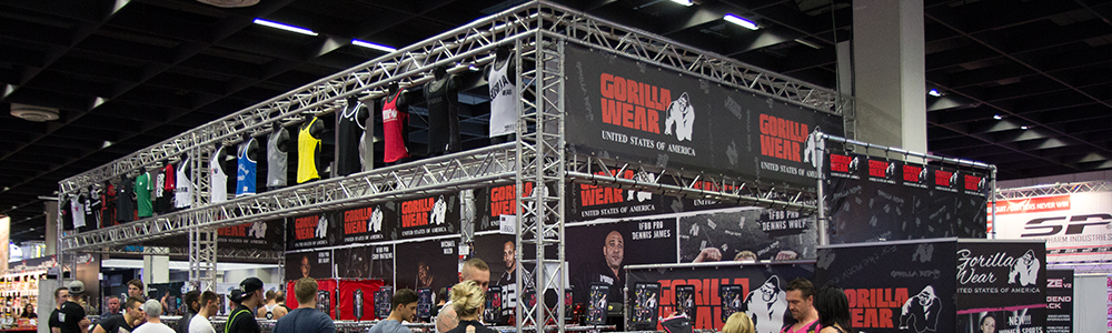 FIBO Gorilla Wear booth