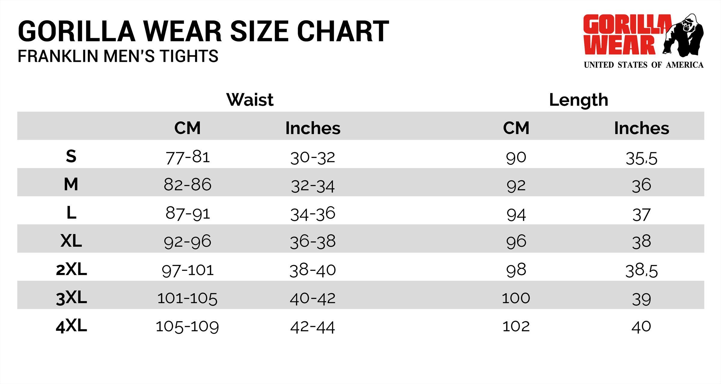 a136bd655bfa0 Franklin Heren Tights - Zwart/Grijs Camo Gorilla Wear