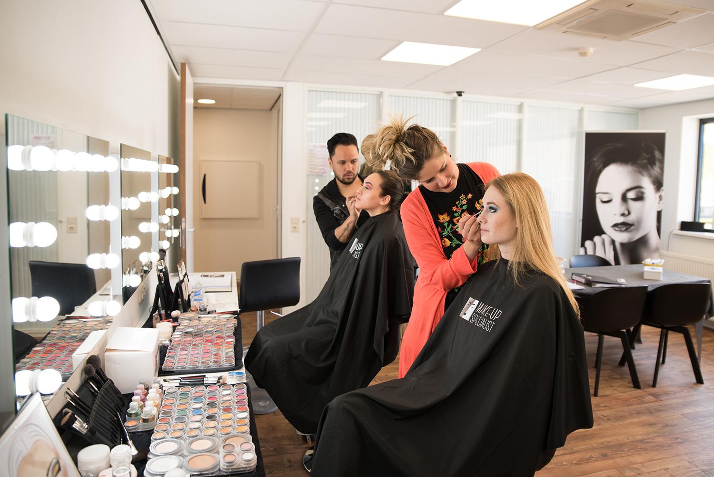 leslokaal opleiding makeup artist