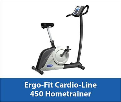 Ergo Fit cardio-line 450 hometrainer