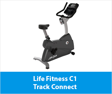 Life Fitness C1 Track Connect hometrainer