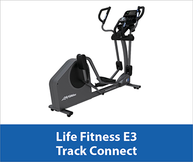 Life Fitness E3 Track Connect