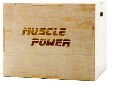 Muscle Power Houten Plyo Box