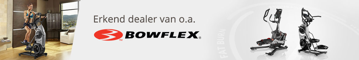Erkend dealer o.a. Bowflex