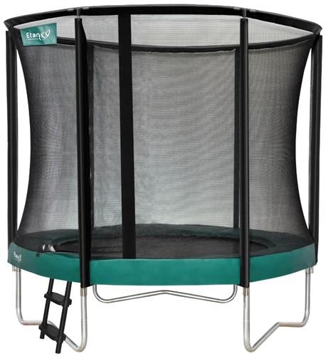 1. Etan Hi-Flyer Combi Trampoline met Veiligheidsnet - 244 cm - Groen