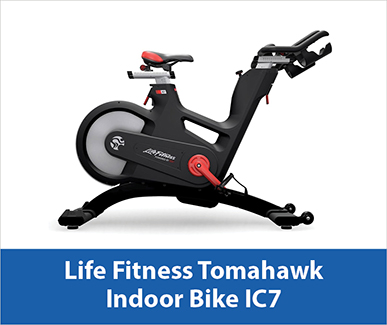 Life Fitness Tomahawk Indoor Bike IC7