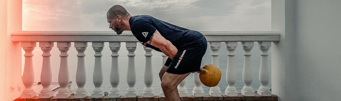 Kettlebells workout