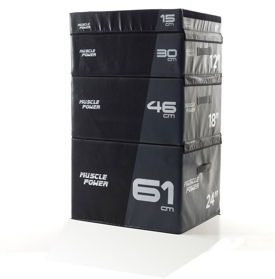 Muscle Power Safe Plyo Box Set
