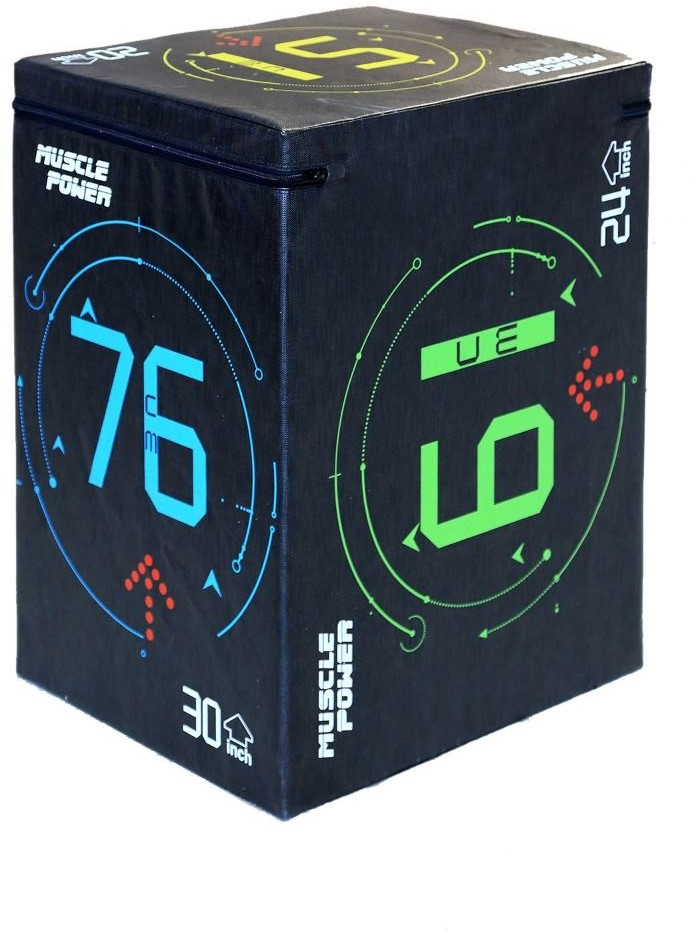 Muscle Power Soft Plyo Box
