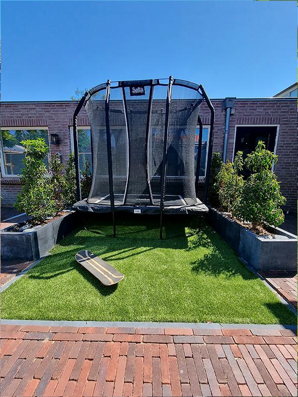 Van ontwerp tot eindresultaat - de tuin van Kimberly