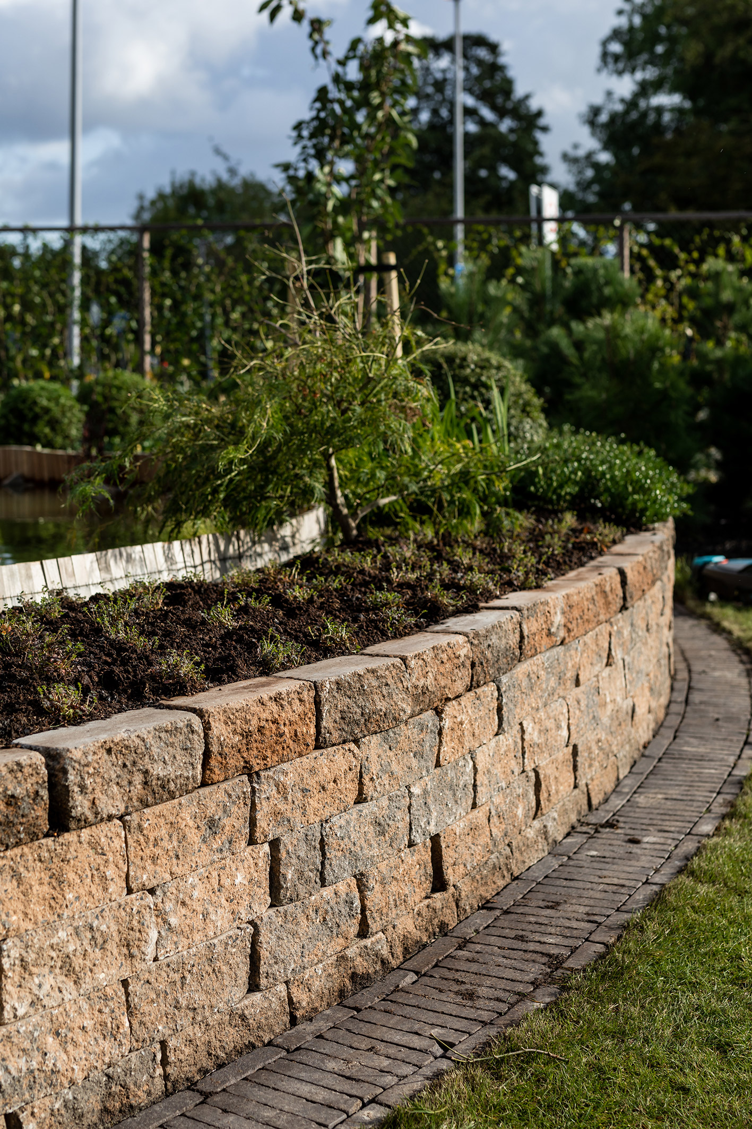 de grote tuinverbouwing gebruikte materialen alf. 9