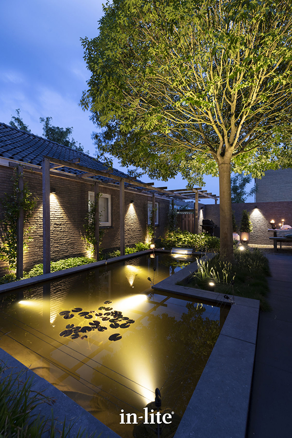 Tuinverlichting van In-Lite voor jouw entree, tuinpad of oprit