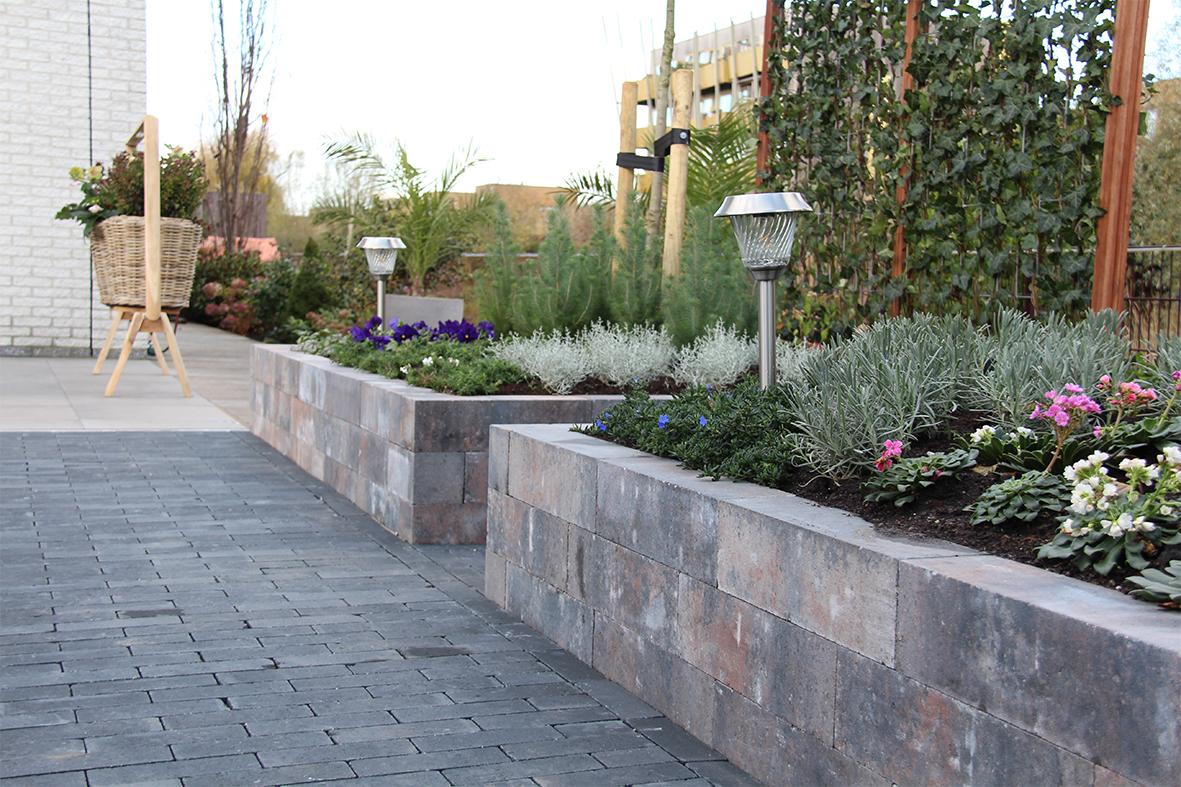 de grote tuinverbouwing gebruikte materialen afl. 13