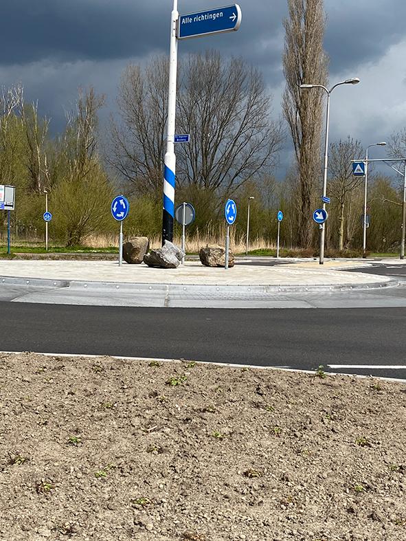 Maatwerk plateaus vormen een strakke rotonde in recortijd - #Straatzaken blog