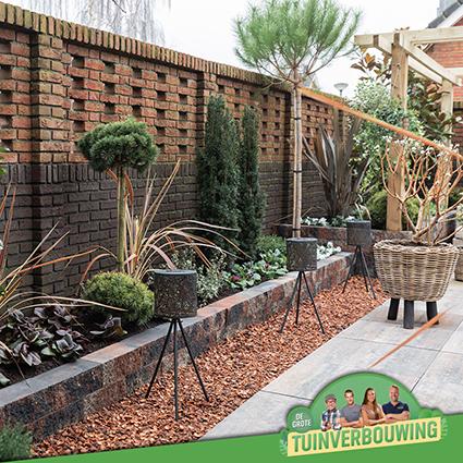 de grote tuinverbouwing gebruikte materialen afl. 23