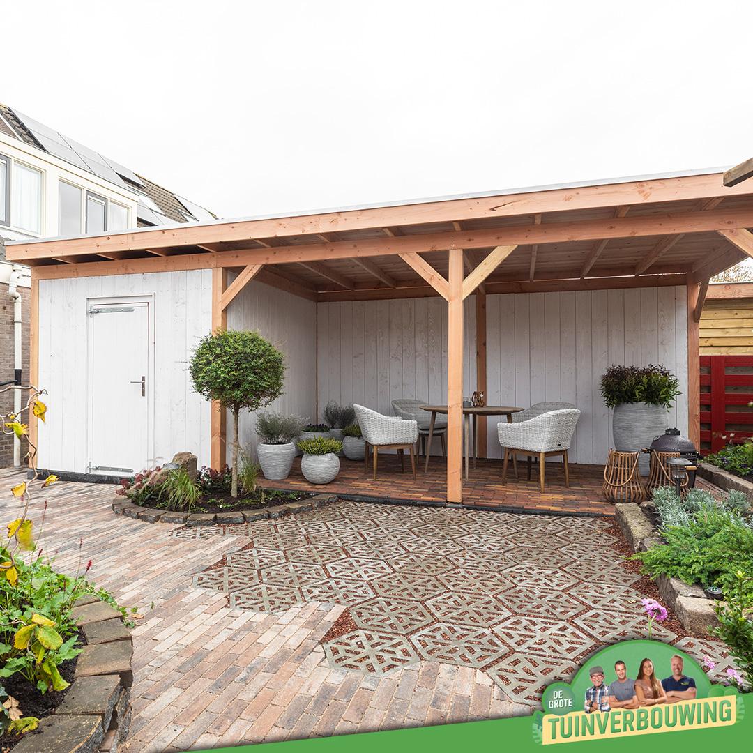 de grote tuinverbouwing gebruikte materialen afl. 14