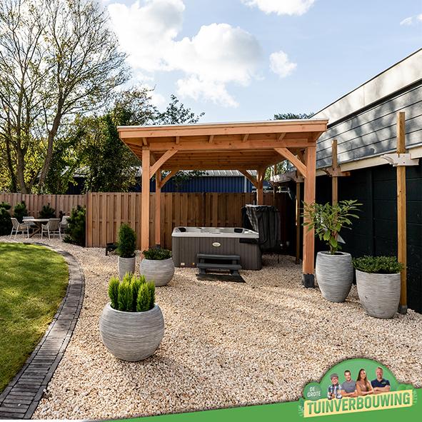 de grote tuinverbouwing gebruikte materialen afl. 9