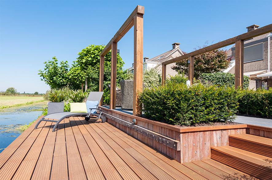 Uitgelicht - Een landelijke tuin met een mooi uitzicht