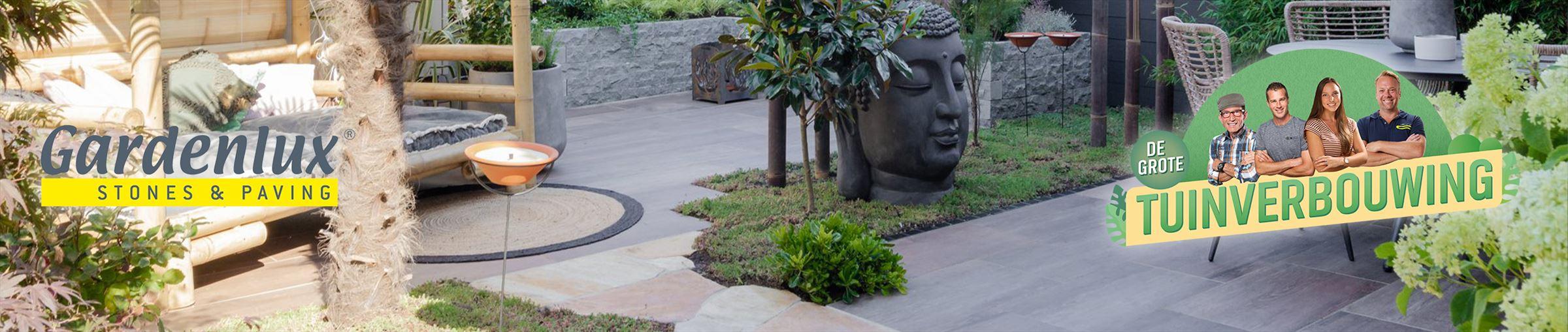 De gebruikte materialen van Gardenlux tijdens de Grote Tuinverbouwing