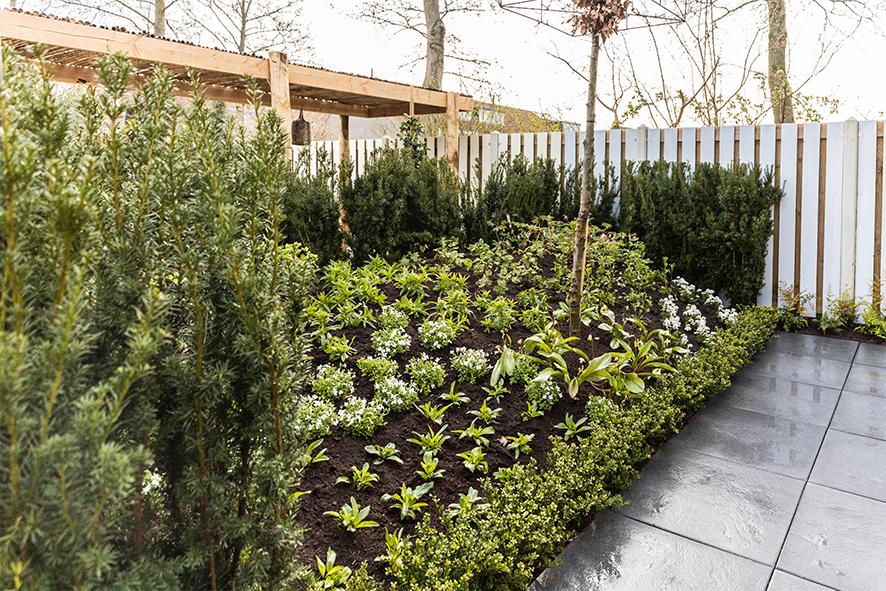 de grote tuinverbouwing gebruikte materialen aflevering 32