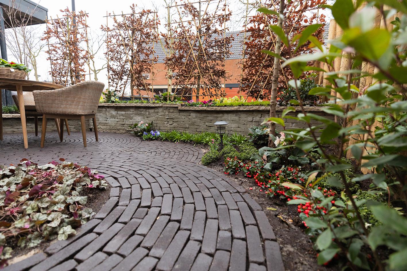 de grote tuinverbouwing gebruikte materialen afl. 19