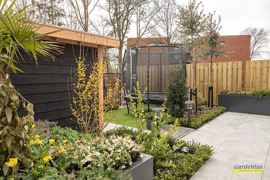 de grote tuinverbouwing gebruikte materialen afl. 28